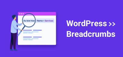 WordPress Breadcrumbs einbinden